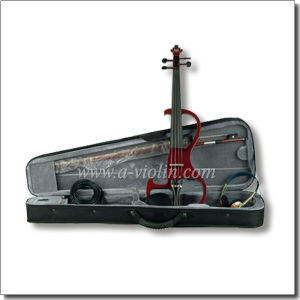 Dyed Hardwood 4/4 Electric Violin with Foamed Case&Bow (VE110B) pictures & photos