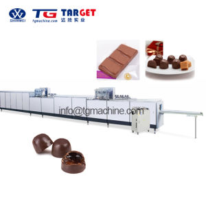 Multi-Function Chocolate Tempering Machine Enrobing and Depositing Machine pictures & photos