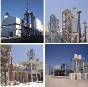 Gypsum Powder Making Machine with High Quality pictures & photos