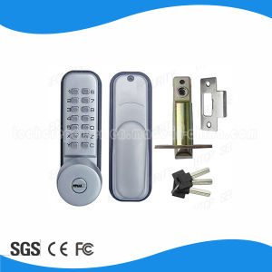 4~7 Digits Number No Battery Password Mechanical Code Lock pictures & photos