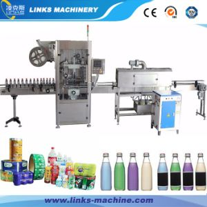 Automatic Bottle Label Shrinking Machinery for Sale pictures & photos