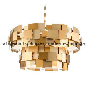 Metallic Chandelier with Mixed Colors Shades (WHP-0060B) pictures & photos
