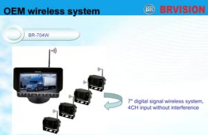 7′′ Wireless Digital Camera System pictures & photos