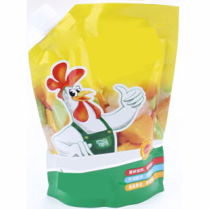 Cartoon Picture Packaging with Top Spout Stand up Pouch