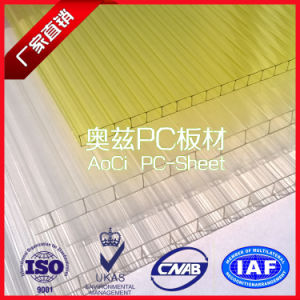 Lexan Twin Wall Hollow Polycarbonate Sheet Price pictures & photos