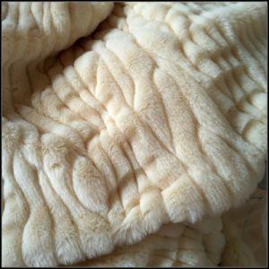 Imitation Rabbit Fur Single Yarns Tip Printed pictures & photos