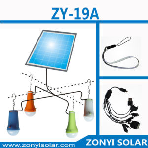 3W Portable Solar Light LED with USB Mobile Charger pictures & photos