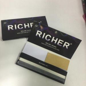Custom Brand Premium Quality Smoking Rolling Papers with Filters pictures & photos