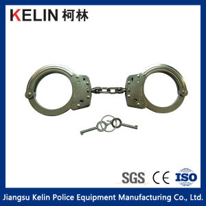 Police High Quantity Carbon Steel Handcuffs (HC-11W) pictures & photos