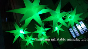2016 New Style Inflatable Star with LED Light Inside for Party Event Wedding Decoration pictures & photos