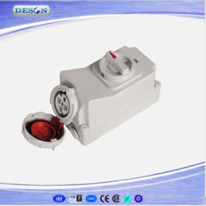 IP67 400V 4pin 63A Industrial Socket pictures & photos
