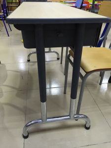 New Style Double Student Desk and Chair (SF-25D) pictures & photos