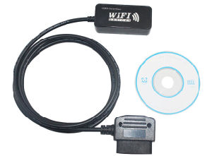 Obdii WiFi Elm327 Diagnostic Scanner pictures & photos