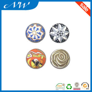 Silk Printed Metal Rivet with Hight Quality