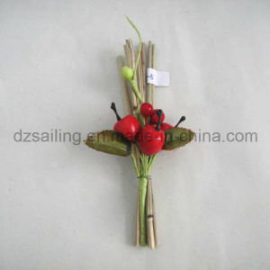 Apple Pick Artificial Flower for Gift Packing and Corsage