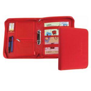 Top Grade Smooth & Soft Genuine A4/A5 Leather Folder Organizer with Loose-Leaf Binder