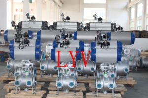 Big Size Full Bore Control Flanged Ball Valve pictures & photos
