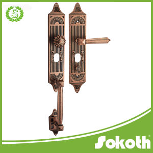 Sokoth New Model Simple, Classical Brass Door Hanfdle pictures & photos