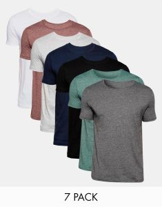 Wholesale Men Crew Neck Plain Cotton Jersey / T-Shirt pictures & photos