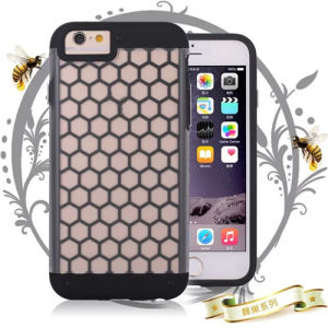 Honeycomb Hybrid Case for iPhone 6 pictures & photos