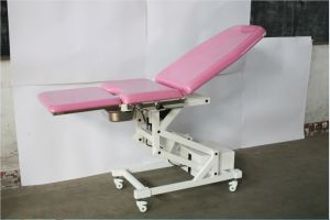 CE, ISO Certified Electric Obstetric Table, for Hospital, Gynecological Bed pictures & photos
