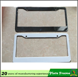 4 Holes Universal Custom License Plate Frames pictures & photos