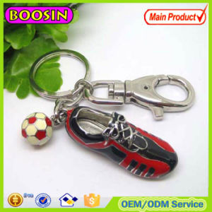 2016 World Cup Theme! 3D Enamel Sneaker No Lead Metal Keychain Wholesale pictures & photos