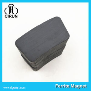 Custom Arc Shape Hard Ferrite Motor Magnet pictures & photos