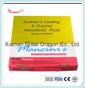 Locking Corners Pizza Box for Stability and Durability (PIZZA-004) pictures & photos