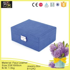 2015 New Fashion Popular Wholesale Jewelry Storage Box (8112) pictures & photos