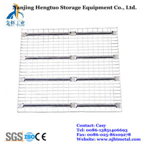 Galvanized Wire Mesh Decking for Warehouse Storage Rack pictures & photos