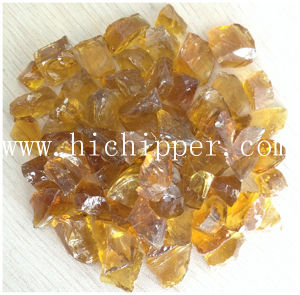 Light Amber Colored Terrazzo Glass Chips pictures & photos