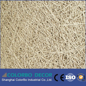Eco-Friendly Office, Home Decoration Wood Wool Acoustic Panel pictures & photos