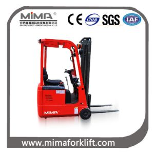 Mima Three Point Electric Forklift for Sale pictures & photos