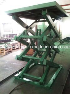 Heavy Duty Stationary Hydraulic Scissor Lift Table Lift Platform (LZ-SJG)