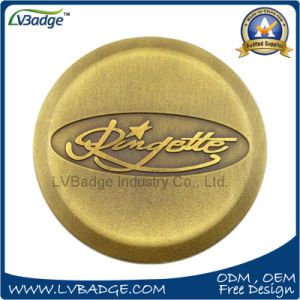 Promotion Customer 3D Metal Coin with Retro Design pictures & photos