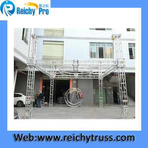 Hot China Factory Triangle Roof Spigot Truss System pictures & photos