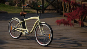 2015 Fashoin Pedal Assisted Beach Cruiser Electric Bike pictures & photos