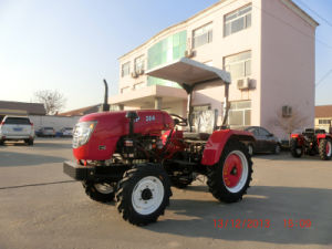 Farm Usage 35 HP 4 Wheel Mini Tractor with Tiller/Plough pictures & photos
