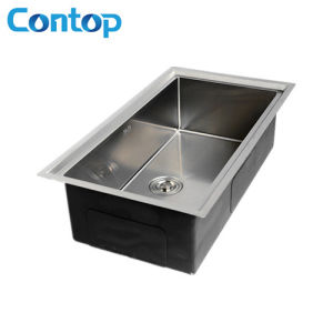 SUS 304 Handmade Kitchen Sink with Size Customized pictures & photos