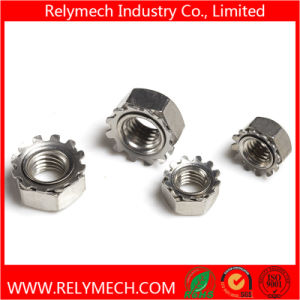 Hex Nut/Cage Nut/Coupling Nut/Rivet Nut/Cap Nut/Square Nut/Tee Nut/Wing Nut/Slotted Nut pictures & photos