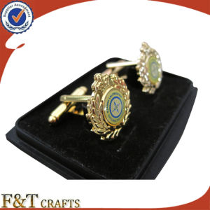 New Style Hot Sales 3D and Paster Metal Cufflink pictures & photos