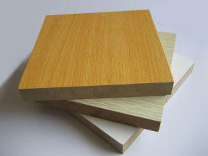 Beech Color Melamine MDF/Melamine Face MDF pictures & photos