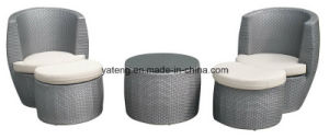All Weather PE Rattan Outdoor Furniture Sofa Set Coffee Set (YT257) pictures & photos
