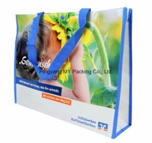 Shopping Bag Shiny BOPP Laminated PP Non Woven Promotional Bags pictures & photos