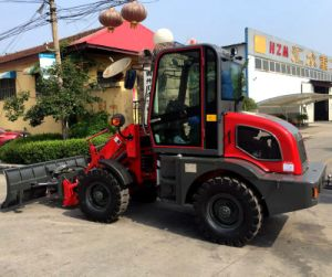 Used Machinery 50HP 4WD Hydraulic Small Tractor with Snow Blower pictures & photos