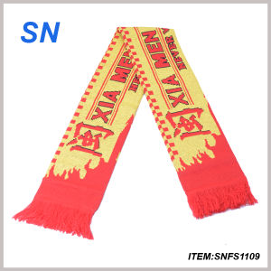 High Quality Cheap Wholesale Custom Football Scarf Fan Scarf Soccer Scarf pictures & photos