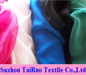 100% Polyester Silk Chiffon for Fahsion Clothes Fabric pictures & photos