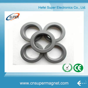 Custom Size Rare Earth Permanent Ring Ferrite Magnet pictures & photos