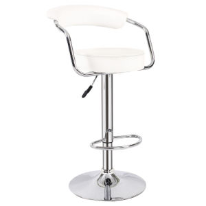 Home Leisure Leather Furniture Wishbone Kitchen Bar Stool Chair (FS-B308) pictures & photos